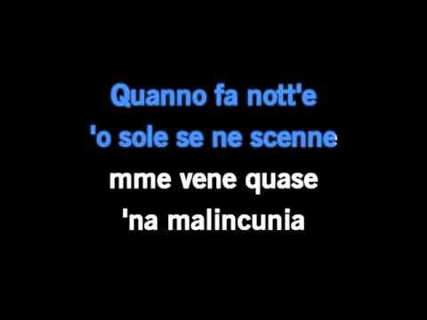 Luciano Pavarotti - O Sole Mio Karaoke