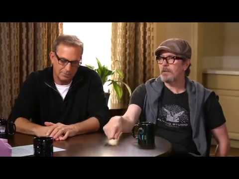 "Gary Oldman and Kevin Costner talking about Criminal, life, career on ""Larry King Now"" (2016)"