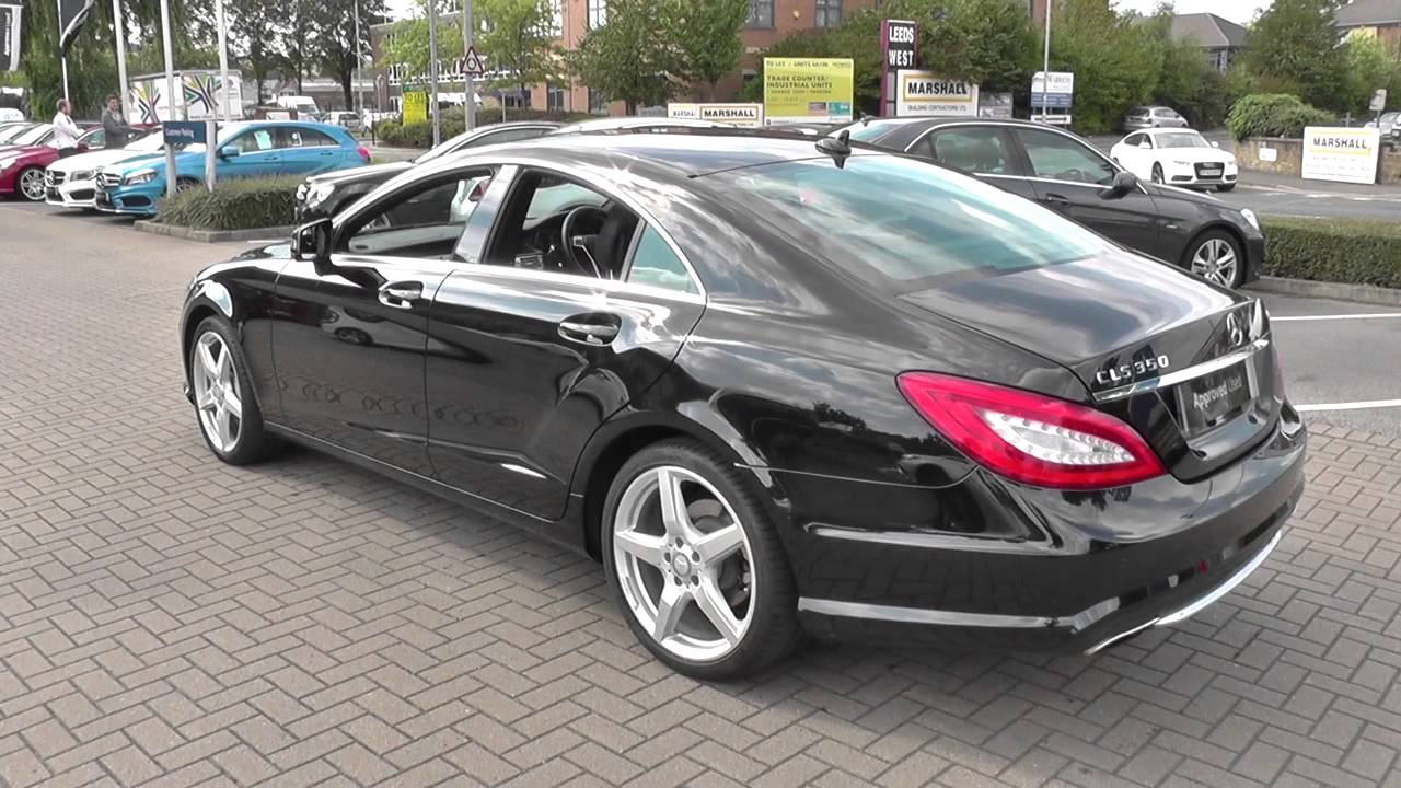 mercedes benz cls cls 350 cdi blueefficiency amg sport 4dr tip auto u23853 youtube. Black Bedroom Furniture Sets. Home Design Ideas