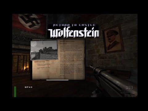Return To Castle Wolfenstein - Pencarian Markas Hitler, Mission 1 : Ominous Rumors Part 1 : Escape ! |