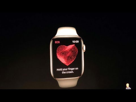 Apple Watch Series 4 with ECG sensor | Apple Launch Event