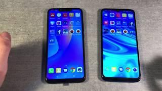 Huawei P Smart 2019 vs Huawei P Smart+ Plus 2018