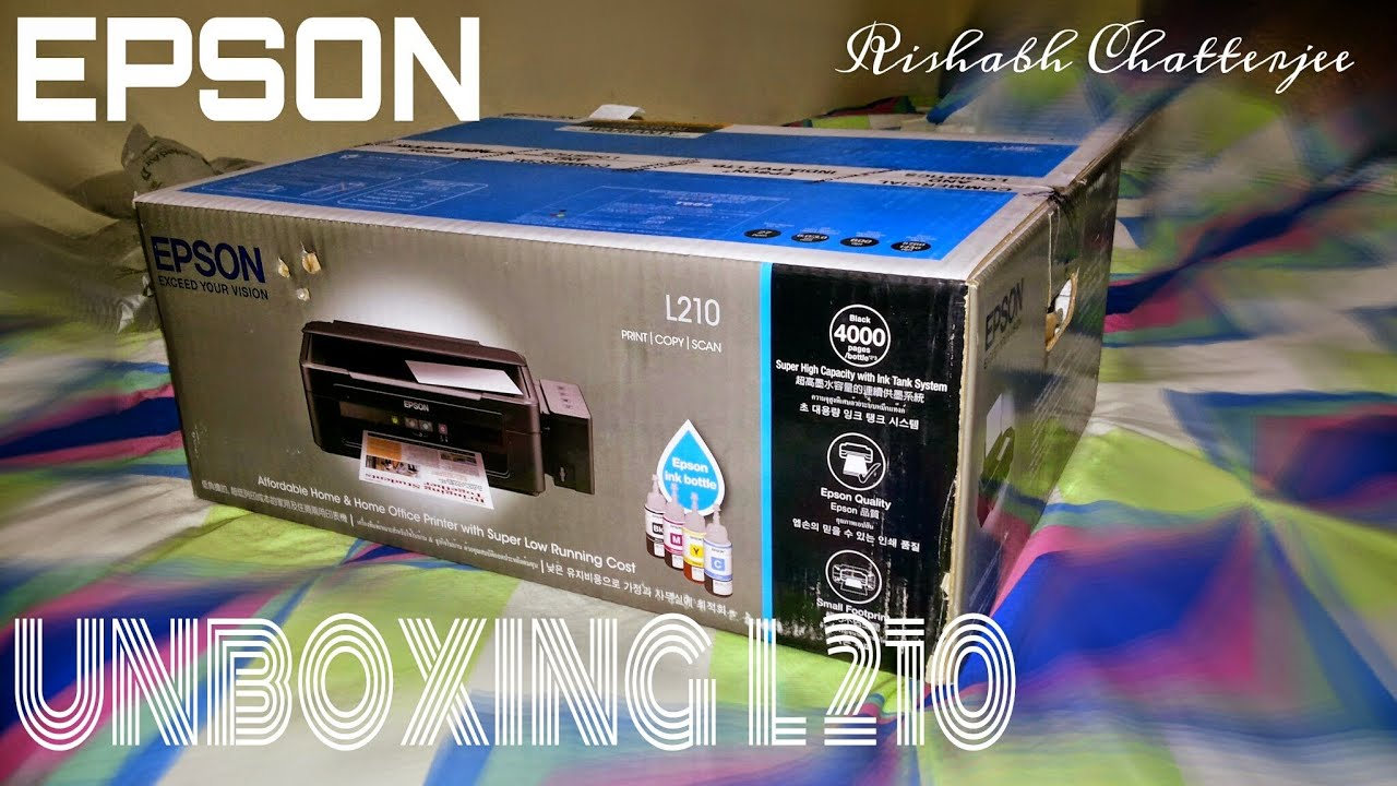 Epson L210 Printer Counter Resetter Free Download