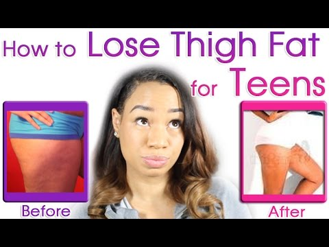 How to Lose Thigh Fat for Teenagers