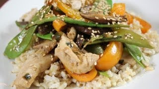 Hoisin Chicken Stir Fry Recipe