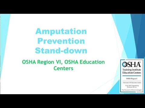 2017 Amputation Prevention Stand-down