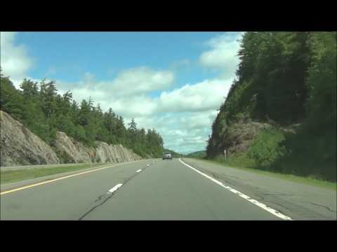 New York - Interstate 87 North (Adirondack Northway) - Mile Marker 100 to 120