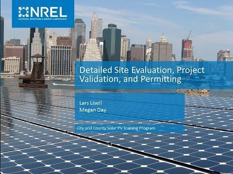 City and County Solar PV Training Program: Module 3