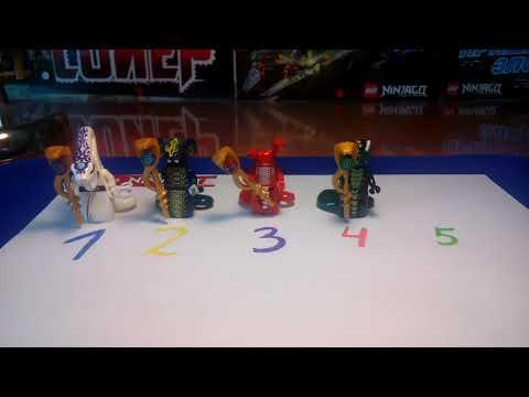 Лего Ниндзяго Серпентин рандом 2