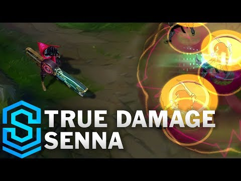 True Damage Senna Skin Spotlight - League of Legends