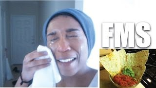 It Hurts!! [fms] March 17, 2014 | Naptural85 Vlog