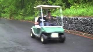 golf cart crash compilation hilarious february 2015