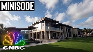 Patron's CEO Has Mind-Blowing $50M Mega Mansion | Secret Lives Of The Super Rich