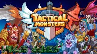 Tactical Monsters Rumble Arena Jugando modo JCJ El Bosque de Bunka Ep 1 Juego Gratis Android, PC...