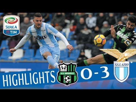 Sassuolo - Lazio 0-3 - Highlights - Giornata 26 - Serie A TIM 2017/18