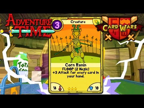 Card Wars: Adventure Time - Corn Ronin Rare Chest! Episode 7 Gameplay Walkthrough Android iOS App