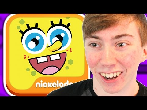 SPONGEBOB'S SUPER BOUNCY FUN TIME DELUXE (iPad Gameplay Video)