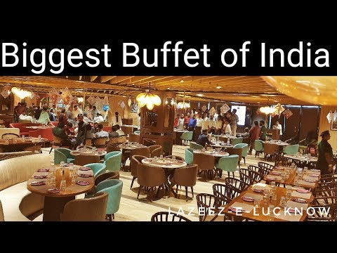 ||Biggest Buffet Of India||The Centurion||Lucknow Food Vlog||Lucknow||