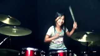 Meru Meru Thailand Song - Drum Cover by Nur Amira Syahira thumbnail