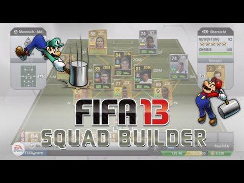 FIFA 13: Ultimate Team Squad Builder - 300k Hybrid + 4 In-Forms!