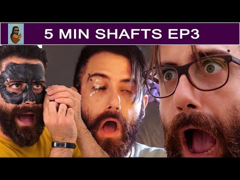 BEAUTY HACKS FOR MEN ARE TORTURE | 5 Min Shafts Ep3 - Men's Beauty Hacks