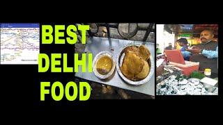Best Delhi street famous  food| khandani pokore wala| fire paan Delhi | Delhi street food