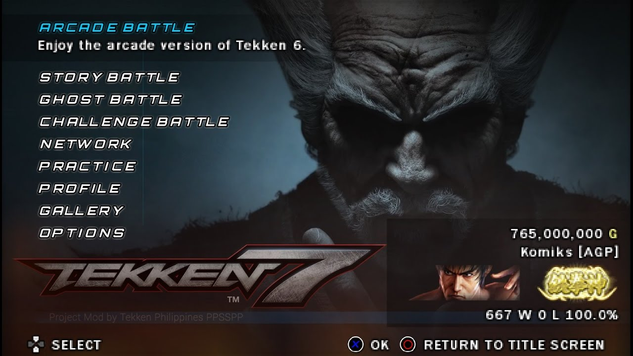 How to use Combo Keys of PPSSPP (for Android) ~ Tekken Philippines