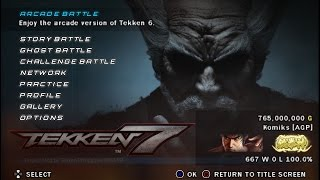 Are You Ready for Tekken 7 Project Mod? (for Android & PC - PPSSPP) RELEASED!