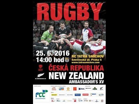 Ragby - ČESKÁ REPUBLIKA vs. NEW ZEALAND AMBASSADOR'S