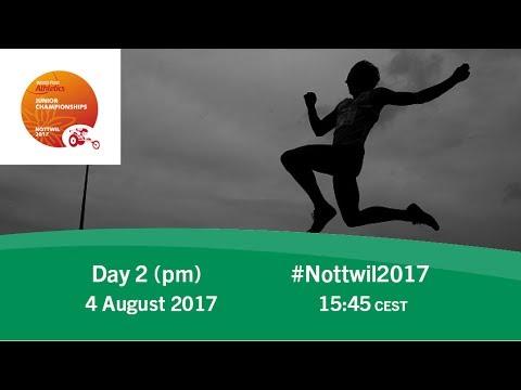 Day 2   Evening   Nottwil 2017 World Para Athletics Junior Championships
