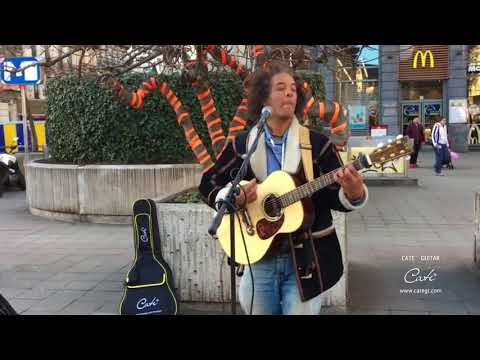 Prince, Purple Rain (Vincent van Hessen) Cate acoustic guitar cover QM-816DSJ