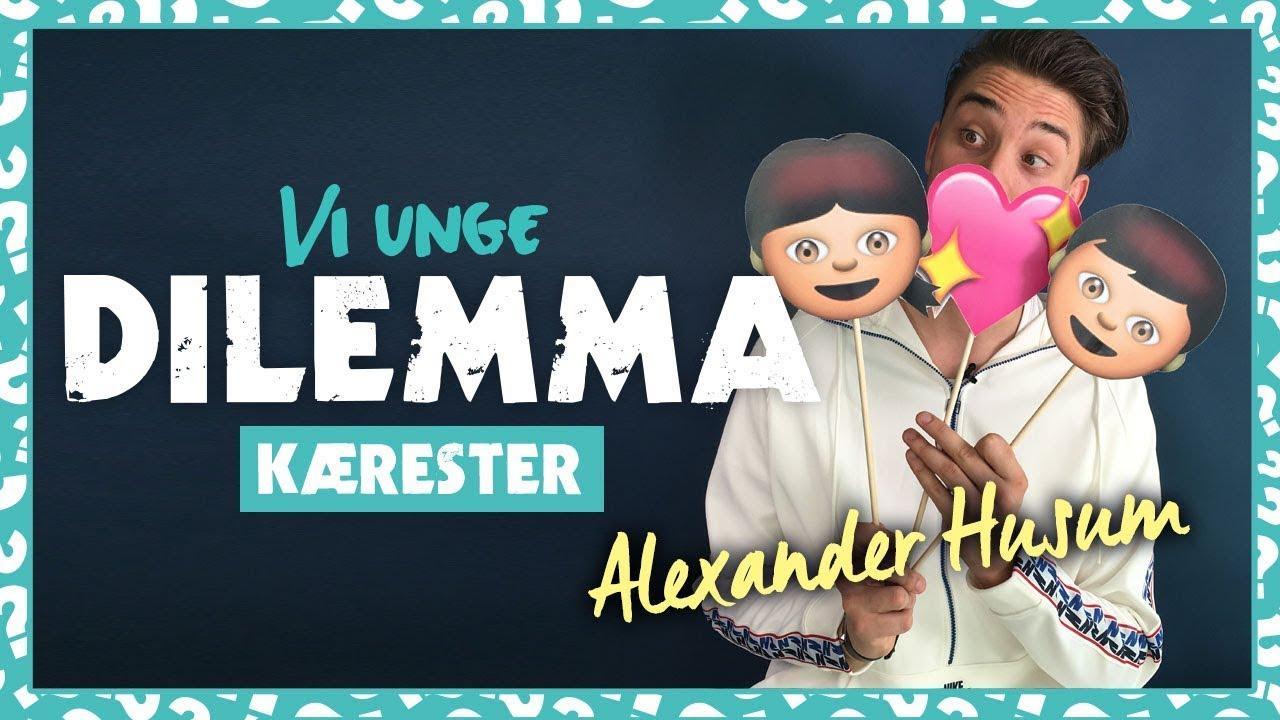 Alexander Husum svarer på kæreste-dilemmaer (jalousi, er han vild med mig og taler om sin eks)