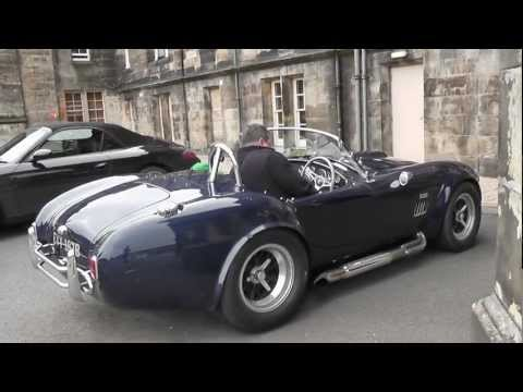 (Original) 1965 Shelby Cobra 427: Start-up, ride, fly-bys, details