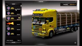 Euro Truck Simulator 2 Scania Series 4 +Tandem+trailer