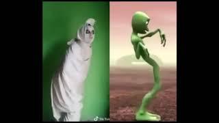 POCONG ternyata bisa Alien Dance, Liat Aksinya !!!