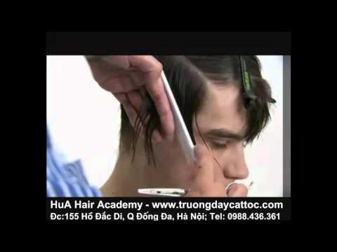 Học cắt tóc nam, học cắt tóc nam kiểu Toni&Guy P2 -www.truongdaycattoc.com
