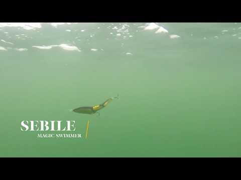 How Lures Swim: Sebile Magic Swimmer