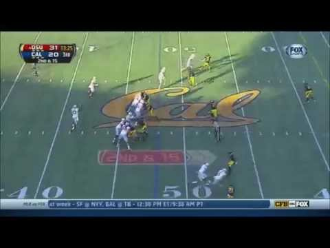 Jeff Heuerman - Ohio State Football - TE - 2013 California Game