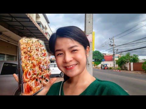 #93 Cuộc Sống Thái Lan _ Mưa Gió Vẫn Đi Bán Bánh   Duy Nisa