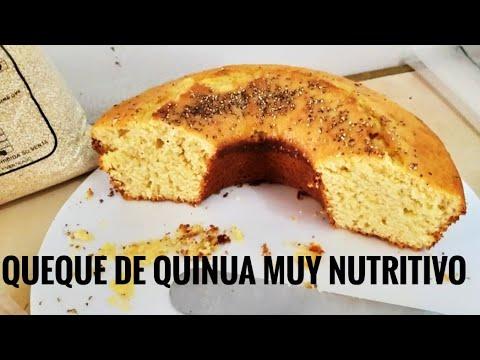 QUEQUE DE QUINUA Super Facil Y Nutritivo !