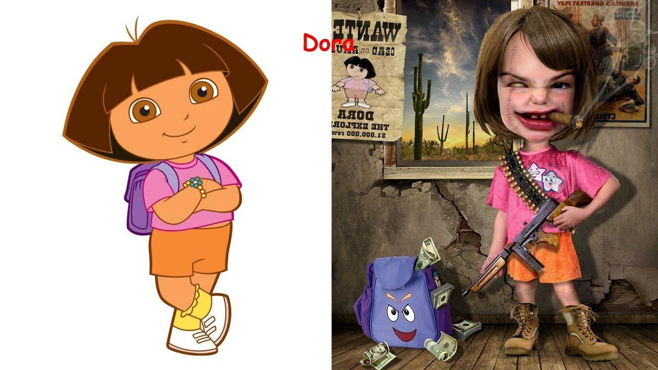 Cartoon Characters As Villains Disney Princesses As Monsters Youtube