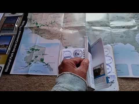 2016 National Park System Centennial Passport Cancellations