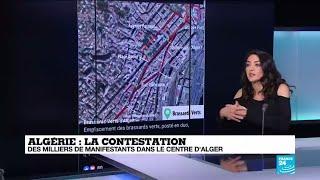 Des centaines de milliers de manifestants remplissent les rues d'Alger
