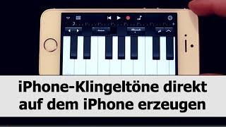 iPhone-Klingeltöne selber direkt auf dem iPhone erstellen mit GarageBand