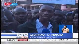 Wenyeji wa eneo la Kapsoya mjini Eldoret wamewagomea wahudumu wa matatu