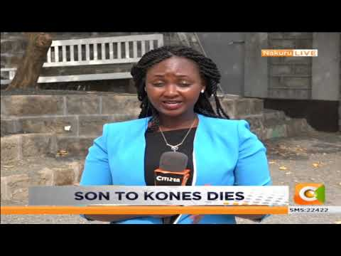 Bomet East MP's son dies