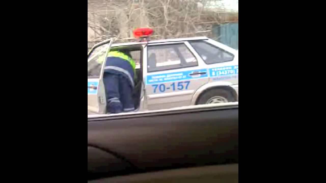 Авария на улице Ольховая
