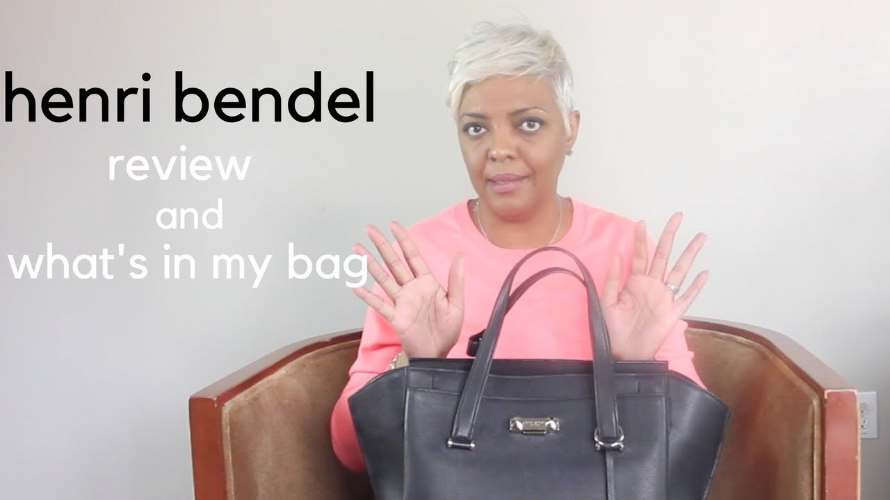 REVIEW   HENRI BENDEL CONVERTIBLE SATCHEL REVIEW (WHAT S IN MY BAG ... 85cd54f0ac