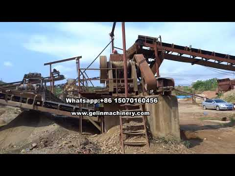 From A to Z turn key alluvial cassiterite sand separating plant