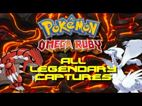 Pokemon Omega Ruby: ALL Legendary Pokemon Locations!!